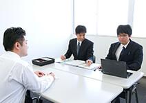 担当税理士と日程調整イメージ